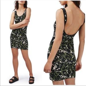 NEW Topshop Camo Mini Dress 2